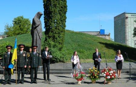 Урочистий мітинг, присвячений 68-річниці Перемоги у Великій Вітчизняній війні